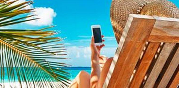 En verano, el móvil es también el protagonista