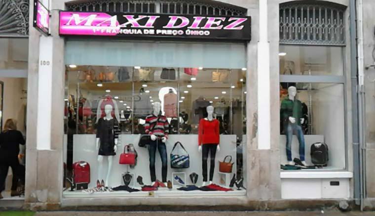 MAXI DIEZ, la franquicia líder de las tiendas a precio único de diez euros, continua con un vertiginoso crecimiento