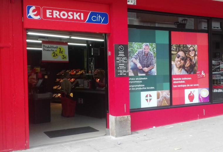 Eroski abre nuevo supermercado en Ondarroa