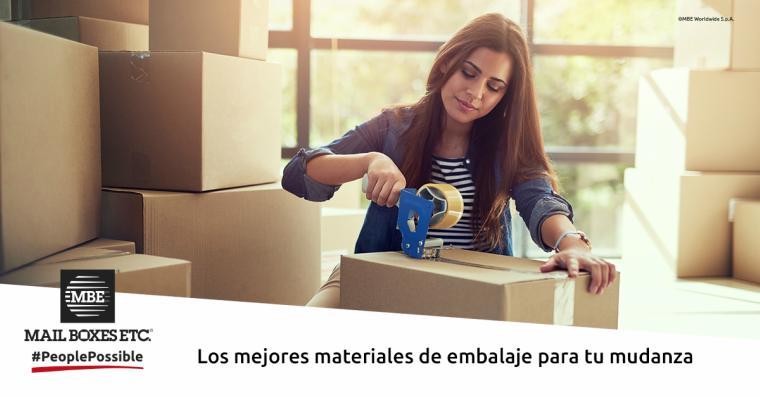 El estrés de una mudanza: MBE ofrece servicios profesionales para empaquetar los objetos