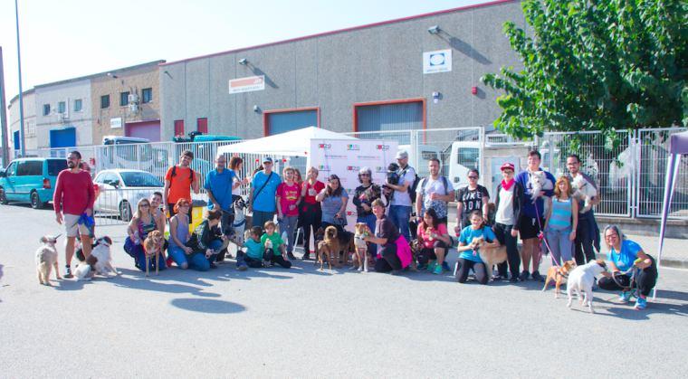 TerranovaCNC participa en la III Caminata solidaria canina en Granollers