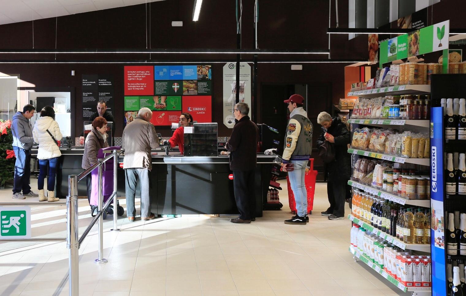 Gureak y Eroski abre un nuevo supermercado gestionado íntegramente por personas con discapacidad