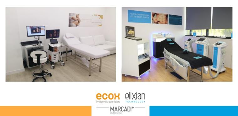 Grupo Marcadi Salud, ECOX4D-5D Y ELIXIAN estética avanzada, proyecta nuevas aperturas internacionales