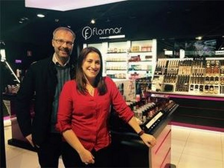 """""""Empezamos hace tres años y ya tenemos cinco tiendas Flormar"""""""