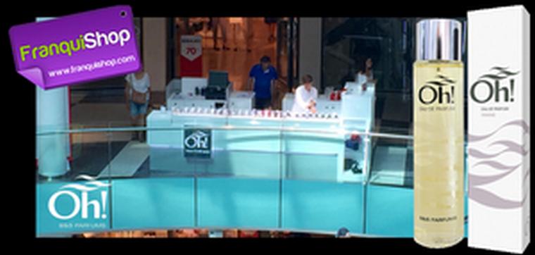 Oh! B&S Parfums participa el próximo 22 de septiembre en la Feria Franquishop de Madrid