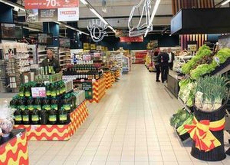 EROSKI promociona los productos locales en Tarragona su primer aniversario como híper franquiciado
