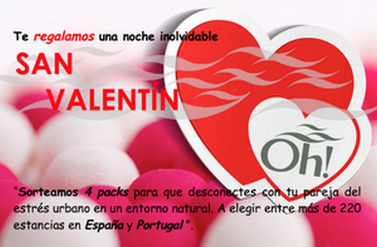 Sorteo especial para San Valentín en Oh! B&S Parfums