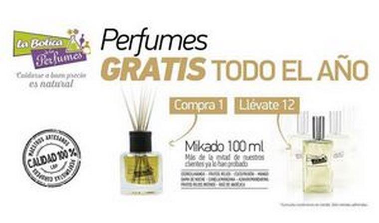 En La Botica de los Perfumes compra 1 y llévate 12