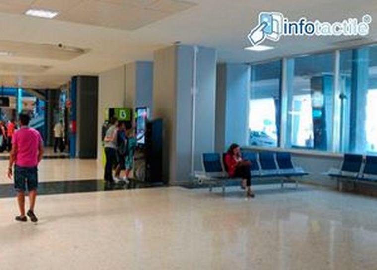 Infotactile, presente en el aeropuerto de Valencia