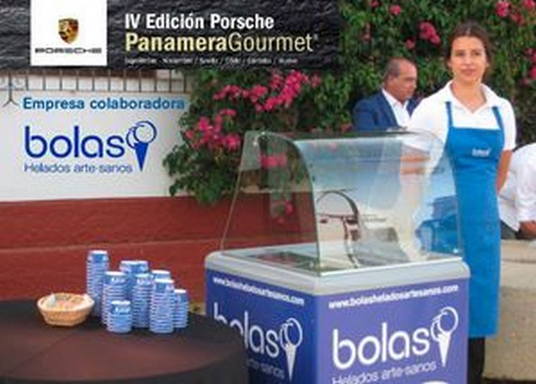 Bolas Helados Artesanos colabora en la IV Edición del Concurso Gastronómico Porsche Panamera Gourmet