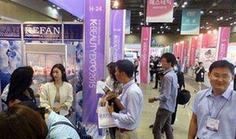 Refan consigue un nuevo éxito en la feria de belleza más grande de Corea del Sur