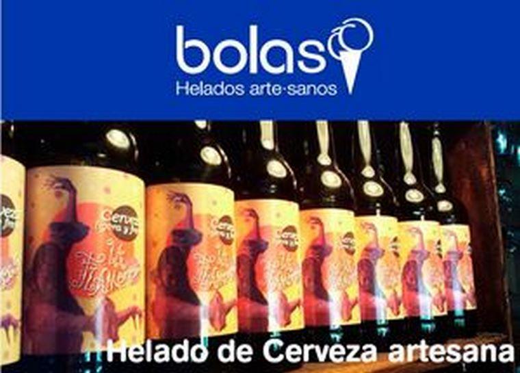 """Bolas colabora en la promoción de """"La Flamenca"""", la nueva cerveza de Manu Tenorio y el pintor Manuel Luna"""