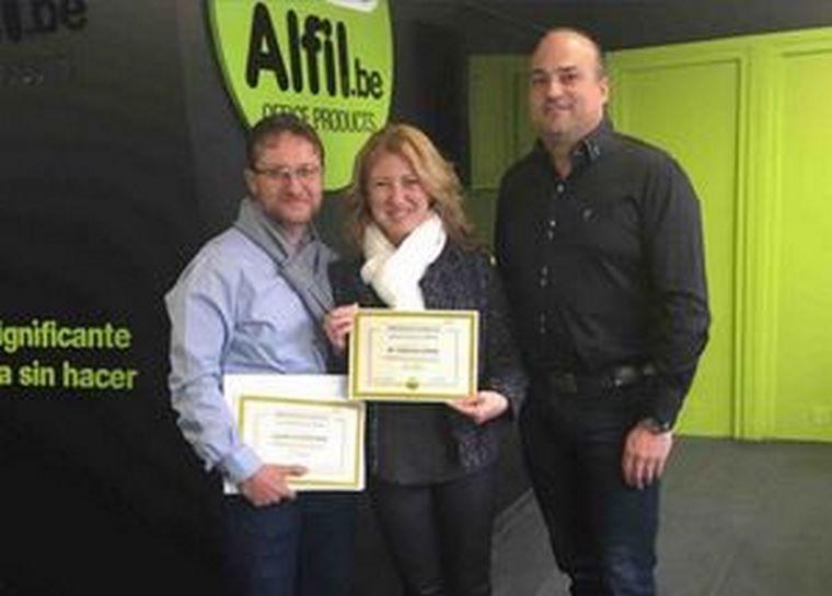 La formación Alfil.be de Catarroja (Valencia) finaliza con éxito