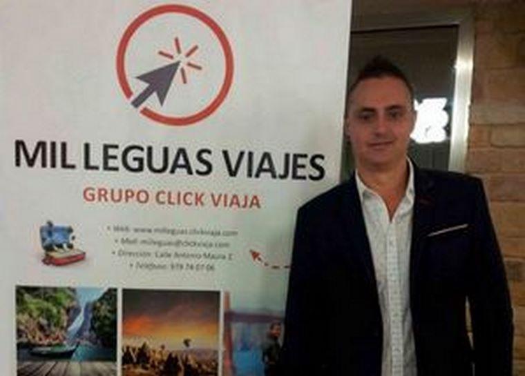 """Román Vegara: """"Pertenecer al Grupo Clickviaja te da tranquilidad y seguridad en el día a día"""""""