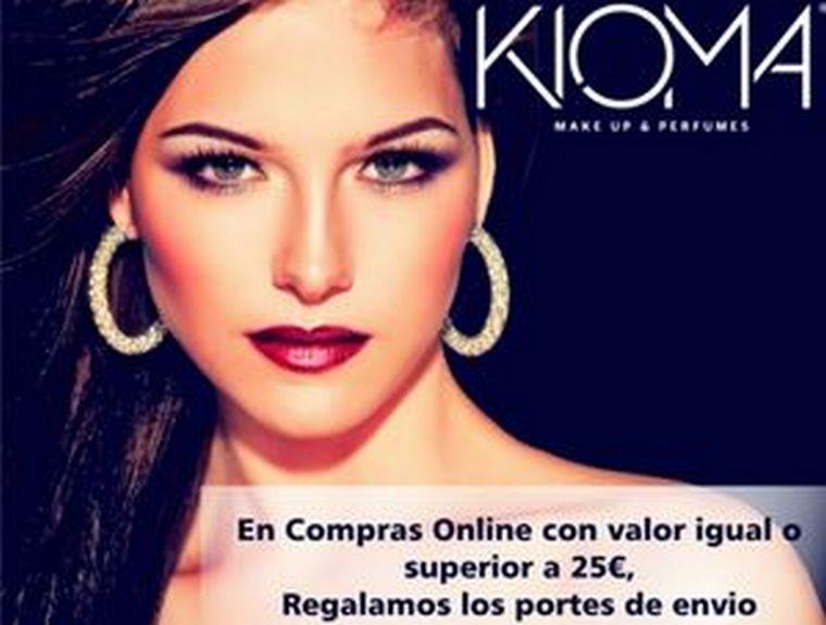 Kioma – Make Up & Perfumes ofrece nuevas ventajas a sus clientes