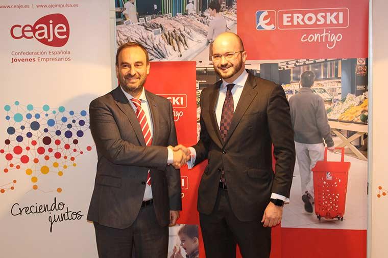 La franquicia Eroski cierra un acuerdo de colaboración con CEAJE