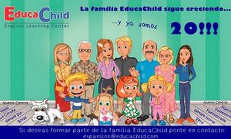 EducaChild English Learning Center inaugura el curso con 10 nuevos centros