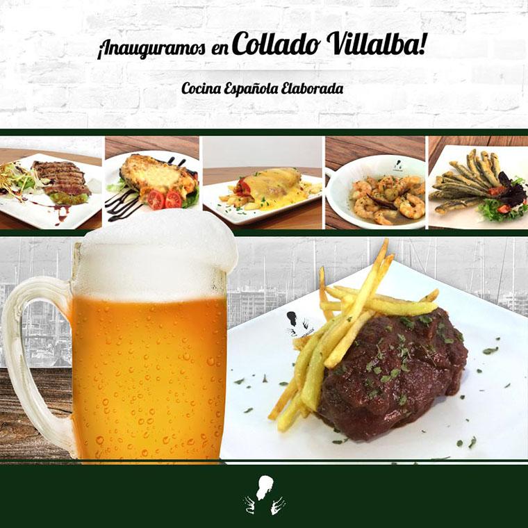 La Andaluza inaugura su primer restaurante de Collado Villalba.