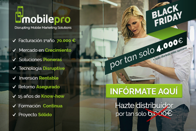 MOBILEPRO celebra el Black Friday