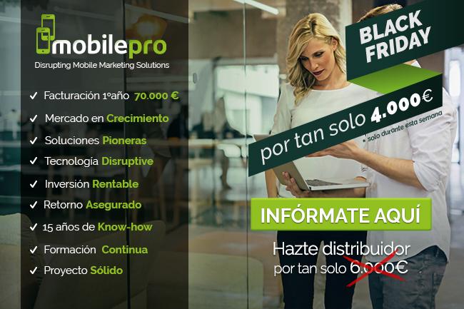 MOBILEPRO celebra el Black Friday