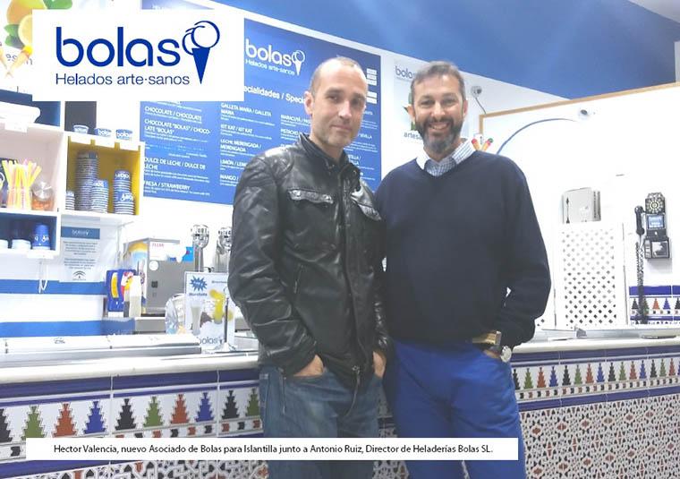 La Franquicia Bolas abrirá su tercera firma este año en la playa de Islantilla, Huelva.