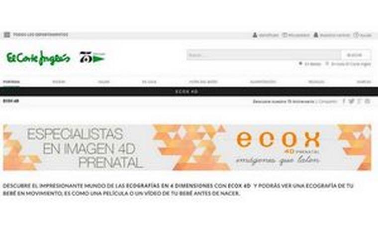 ECOX4D + EL CORTE INGLÉS, la unión de dos grandes marcas