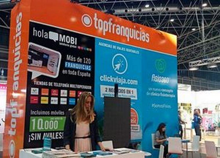 Topfranquicias vuelve a EXPOFRANQUICIA un año más