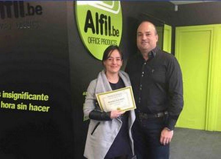 Otra formación finalizada con ALFIL.be de Alaquás (Valencia)