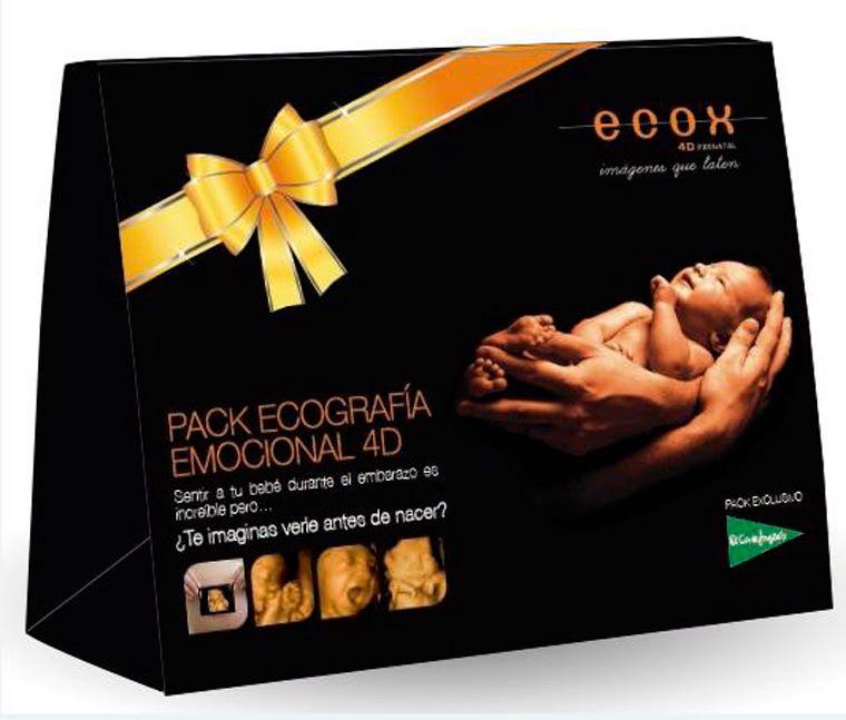Ecox4D-5D realiza ecografías emocionales en los centros de  El Corte Inglés, Feria del Bebé 2016