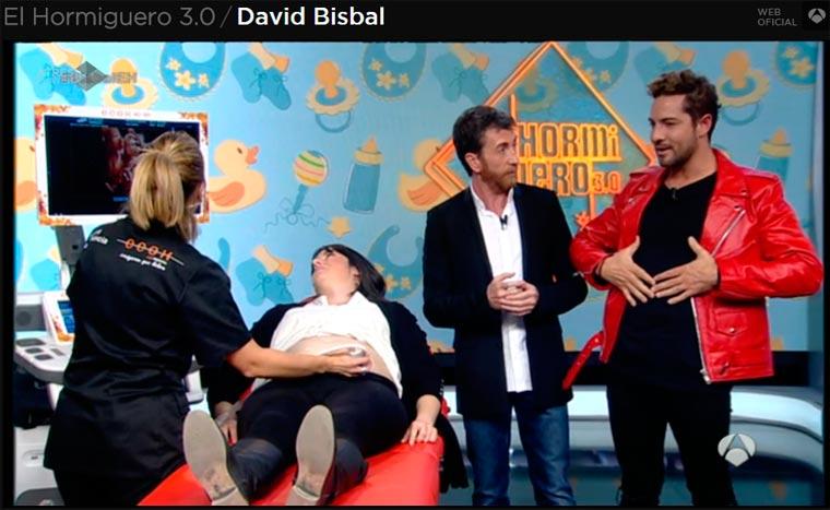 Ecox4D-5D en Antena3 El Hormiguero con Pablo Motos y David Bisbal