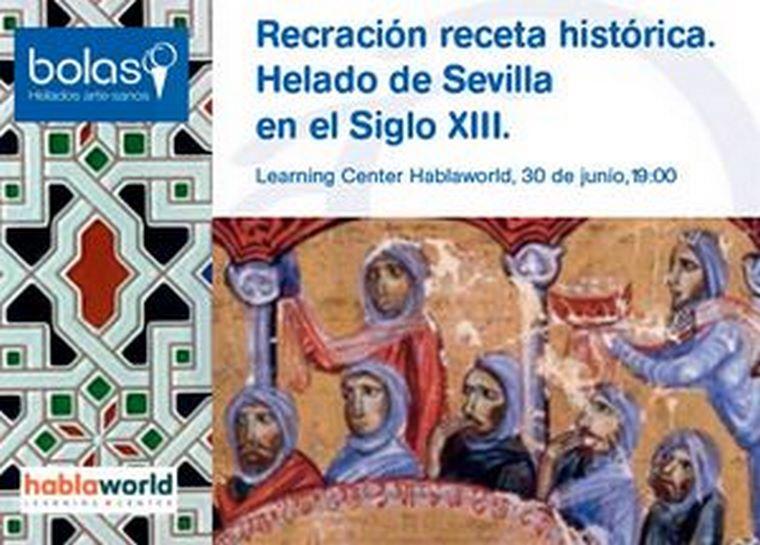 Bolas Helados Artesanales recrea una receta sevillana del siglo XIII