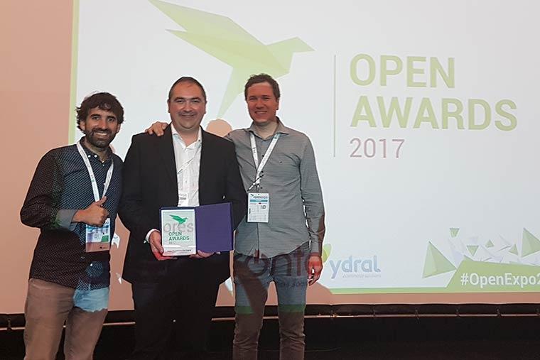 Premio Open Awards a Eroski viajes e Irontec por la mejor transformación digital en gran empresa