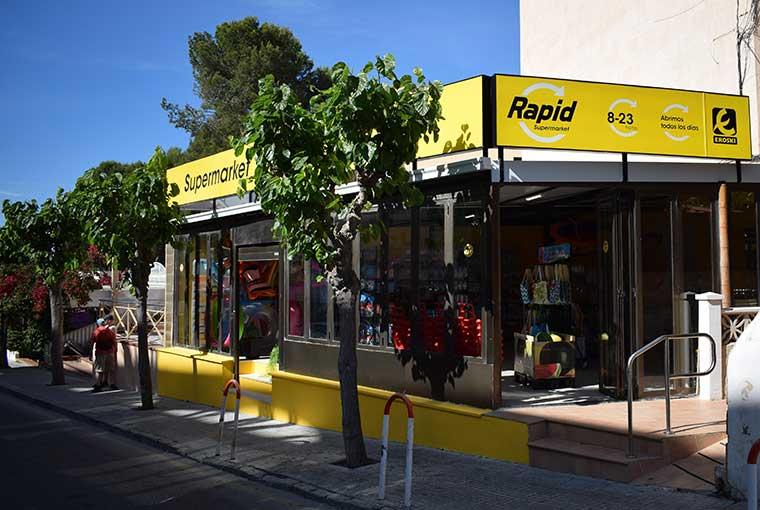 """Nueva enseña """"rapid"""" de Eroski para tiendas de conveniencia"""