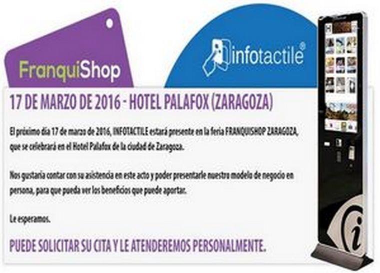 Franquishop Zaragoza, es la nueva oportunidad para dar a conocer Infotactile