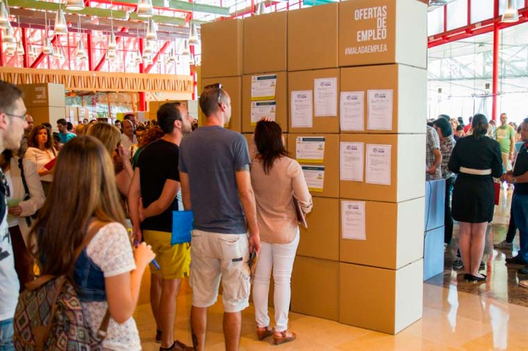 TF Consulting participa por segundo año consecutivo en la feria Málaga Emplea