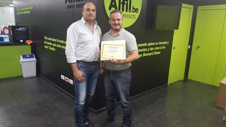Alfil.be papeleria & hobby finaliza el curso de formación de Collado Villalba
