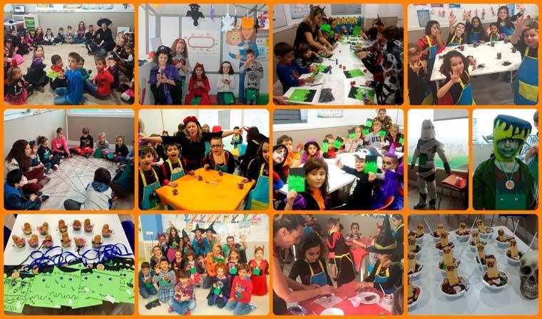 Un año más Educachild ha celebrado Halloween con un taller
