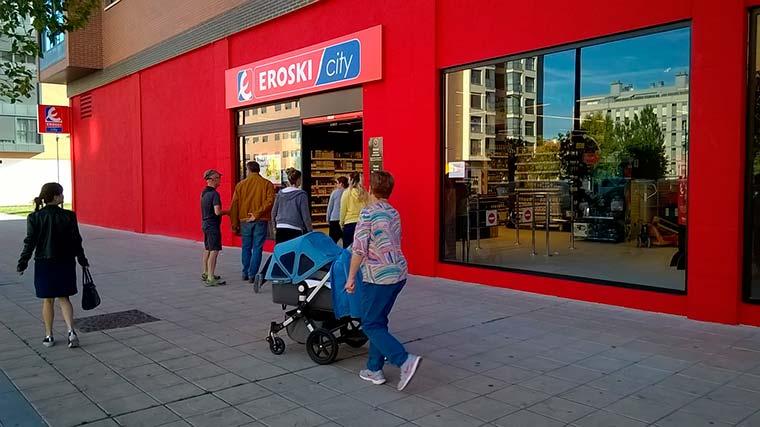 EROSKI abre nuevo establecimiento en Vitoria