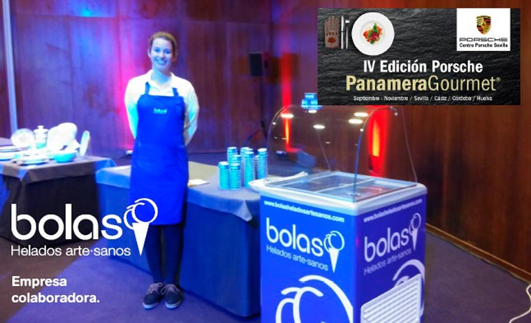 Heladerías Bolas colabora en la gala final de la IV Edición del concurso Porsche Panamera Gourmet