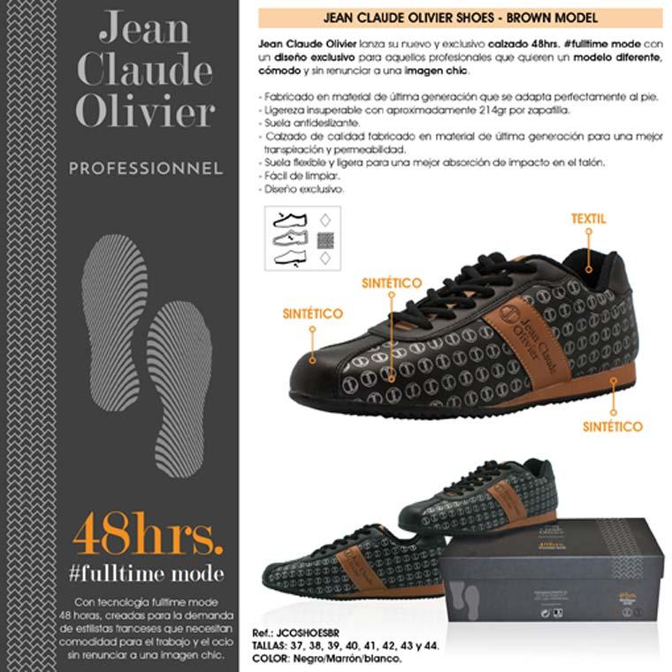 JEAN CLAUDE OLIVIER lanza el calzado #48hrs #fulltime mode con un diseño exclusivo