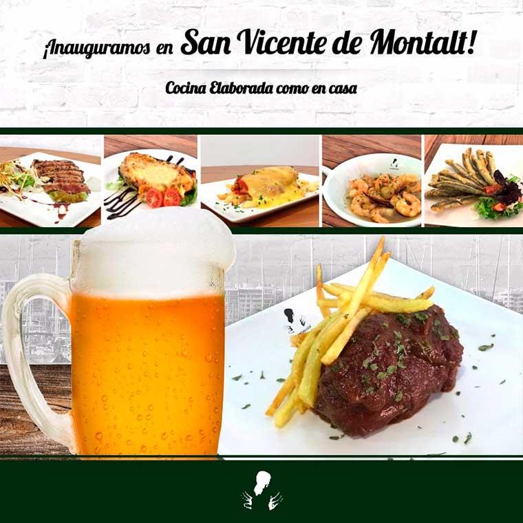 La Andaluza inaugura un nuevo bar de tapas en San Vicente de Montalt (Barcelona)