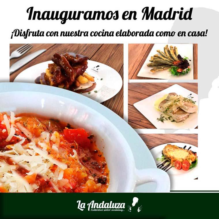 La Andaluza pone en marcha un nuevo restaurante franquiciado en Madrid