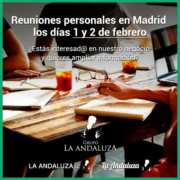 La Andaluza comienza sus jornadas cara a cara: reuniones personales con futuros franquiciados