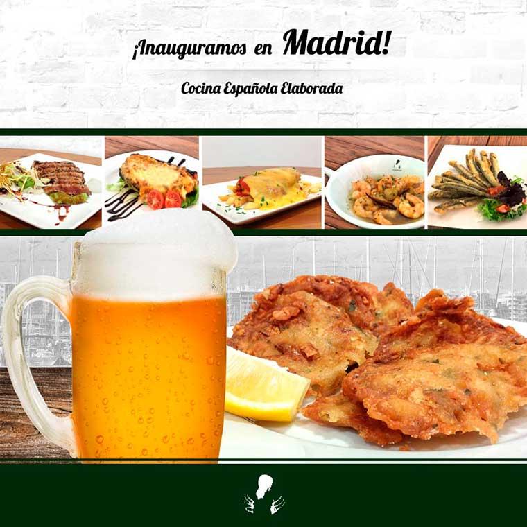 La Andaluza abre un nuevo bar de tapas en Madrid.