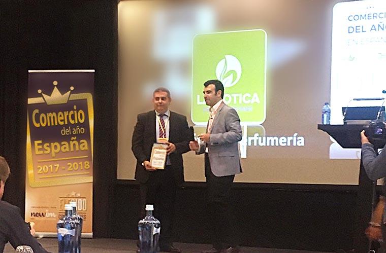 La Botica de los Perfumes se alza con el premio al Comercio del año en España