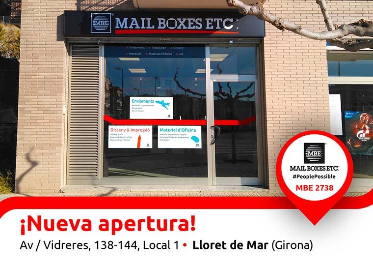MAIL BOXES ETC. inaugura una nueva tienda