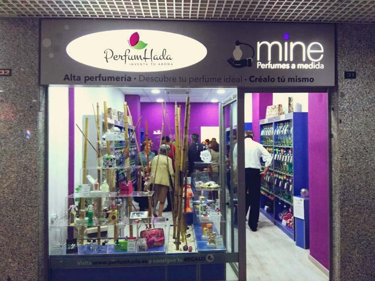 PERFUMHADA  MINE, el futuro de la perfumería