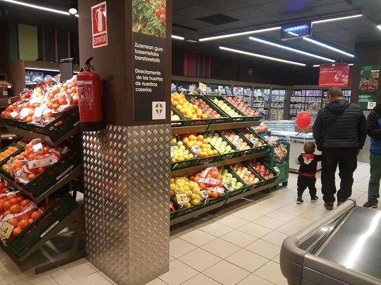 Eroski inaugura un supermercado en Oñati