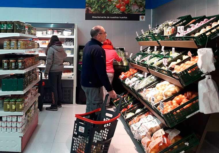 Eroski, nuevo supermercado en Oscense de Canfranc