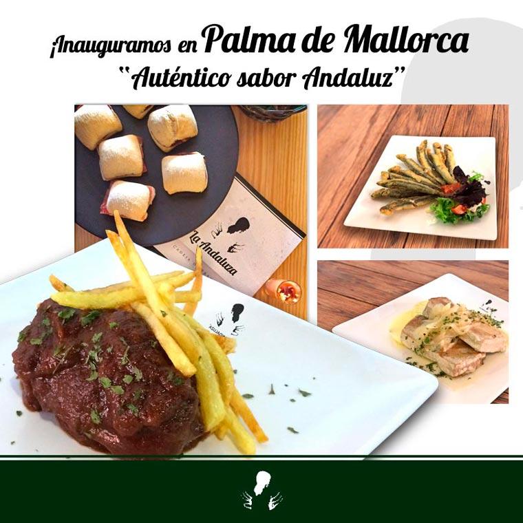 La franquicia de hostelería gratuita La Andaluza abre un nuevo bar de tapas en Palma de Mallorca
